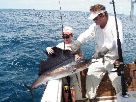 Sailfish Fishing Photo gallery: Kids love catching all our sport fish, and I enjoy taking kids out there. Islamorada Fishing Charters Florida Keys